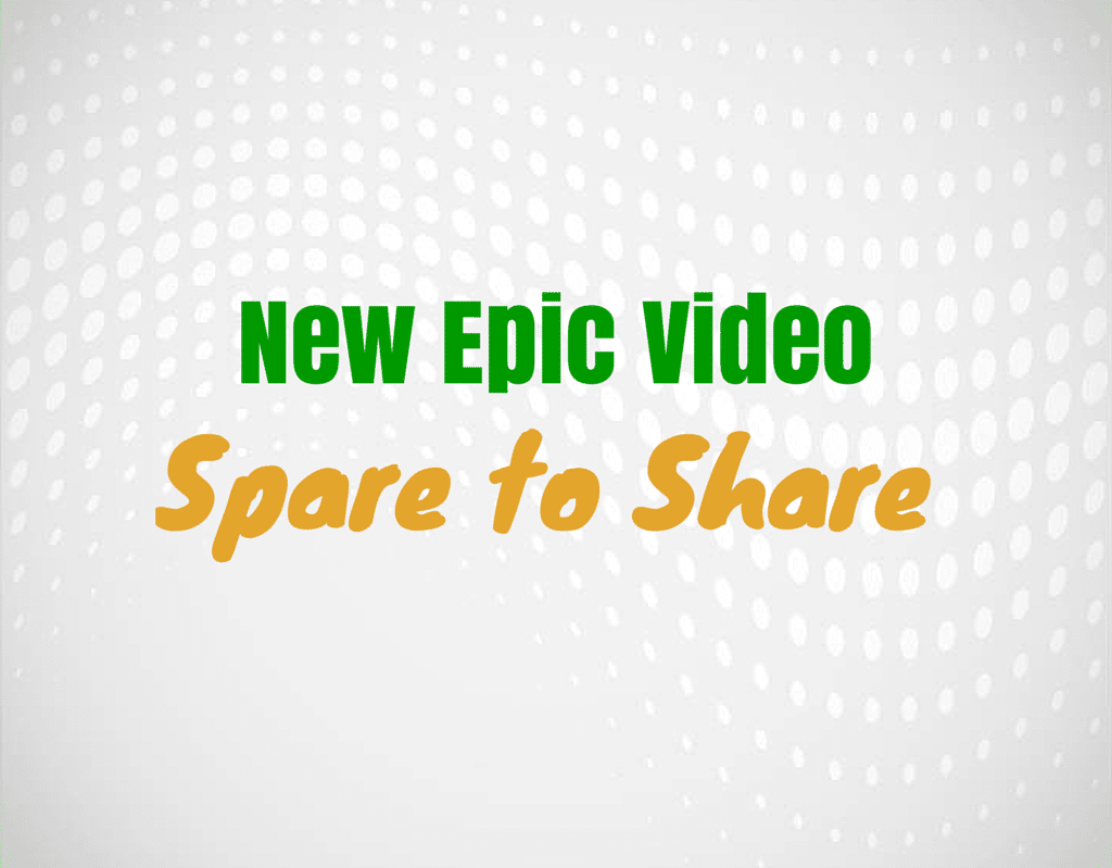 New epic video spare to share
