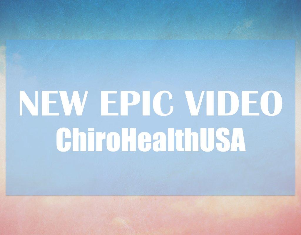 New Epic Video ChiroHealth USA