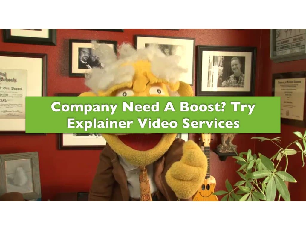 Company Need a Boost? Try Explainer Video Services